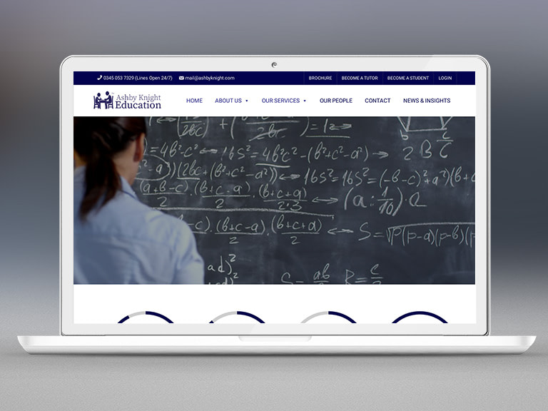 Ashby Knight Tuition Pay Monthly Website