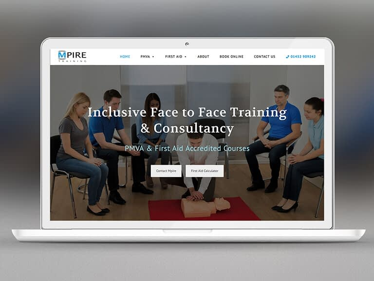 Mpire Training Pay Monthly Website Design