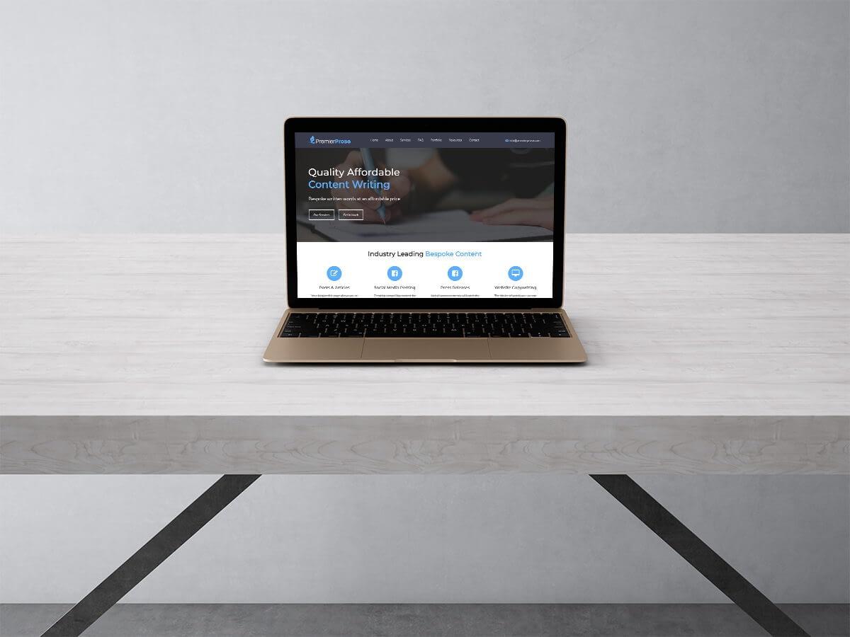 Premier Prose Pay Monthly Websites